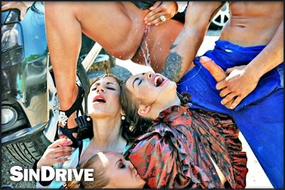 Deep throat extravaganza