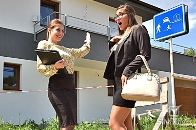 Business Babes Go Animal and Piss All Over Their Territory!